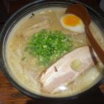 らーめん木蓮 - 味噌らーめん750円