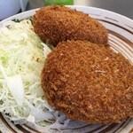 とんかつ川久 - コロッケ