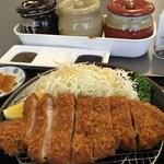 とんかつ川久 - 黒豚ロースカツ
