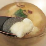 ラ・シャンブル幟町茶寮 - 冷前菜                             じゃがいものクーリ 干し椎茸のジュレ。