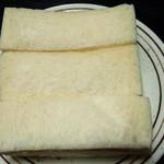 パン職人 ふたばや - サンドイッチ ハムエッグ(367円)
