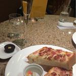 パスカルカフェ 日本橋高島屋店 - ホットサンドとチョコレートとシャンパンのセット