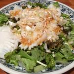 鍋家 - イカの生姜ダレ