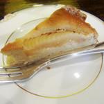 珈琲舎 蔵 - 洋梨のタルト