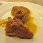 春梅子餐廳 - 次は鶏肉の中華炒め、鶏肉を甘辛く炒めてあります。
