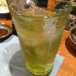 鳥元 - 緑茶ハイ