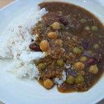 Curry&Cafe香炉里 - ひき肉とミックス豆のカレー