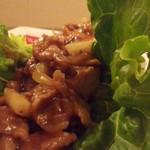 Cafe MOCO - たっぷりのお肉