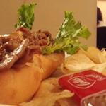 Cafe MOCO - 焼肉サンド
