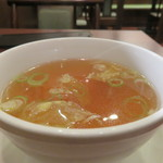 中華料理 明和酒家 - スープ