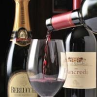 ORIENTAL KITCHEN ITALIANA - お料理に合ったワインをソムリエがご提案させて頂きます