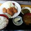 漁師のかき小屋 - 料理写真:カキフライ定食1000円
