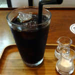 丁の字 CAFE - セットのアイスコーヒー