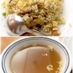 52830604 - スープはオーソドックスな鶏スープ