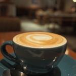 クックコープカフェ - カフェラテ