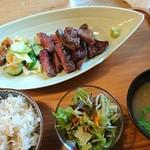 こもれび食堂 - 牛タン定食 ¥1400
