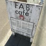 FABcafe - 屋号看板