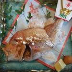 丸みつ - 料理写真:焼き鯛   お祝い事にどうぞ…
