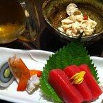 翡翠 - 前菜とお造り