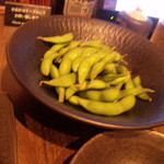 全席個室 楽蔵 - お凌ぎ・塩茹で枝豆