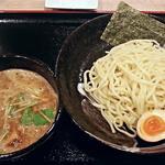 麺処 虎ノ王 - 【濃厚魚介とんこつつけ麺 並 + 味玉】¥780 + ¥100