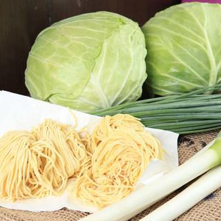 国内産新鮮野菜使用&小ライス無料