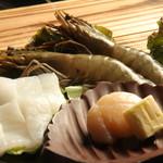 梵天丸 - 海鮮盛1680円