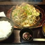 焼肉ぷるこぎ - ぷるこぎ定食
