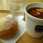 スープストックトーキョー - スープ1つと石窯パンのセット 780円