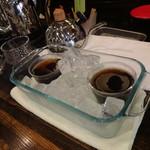 レン コーヒー - 氷でしっかり冷やします ※2016年6月