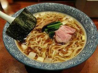 麺処ほん田 - 手揉み中華蕎麦 醤油770円