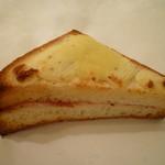 52855588 - 分厚いトースト自体が美味しい!クロックムッシュ280円