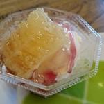 おきなわ養蜂 - 料理写真:ブルーベリーアイスクリーム(480円)