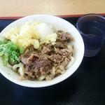 とみやうどん - 肉ぶっかけ:430円