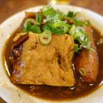 へんこつ - 豆腐、ごぼ天あっぷ