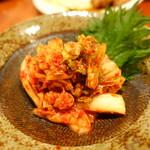 鶏創作料理 成松 - キムチ