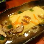 鶏創作料理 成松 - めんたいだし巻のあんかけ
