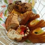 b's kafé - 【2016/6】おかわりのパン②温めは強めの方がよかった