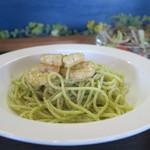 マナーズカフェ - 料理写真:ぷりぷり海老のジェノベーゼ