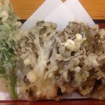 上州麺処 平野家 - 舞茸天