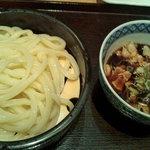 宮武讃岐製麺所 - 豚つけうどん(小)