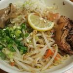 麺食堂 一真亭 - 拌麺(ばんめん)+温野菜トッピング