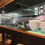 麺屋 雪風 - カウンター