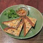 モンスーンカフェ - 定番:シュリンプ・トースト