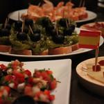 コメドール エステラ - タパス。パーティーにはご予算に合わせてお料理をご用意します。