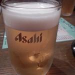 炭焼工房 飯味楽 - 生ビール中ジョッキ
