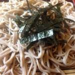 あづま家 - 蕎麦アップ