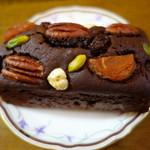 52869991 - 2016.06 ナッツがデカいのではなく、ケーキが小さい:汗