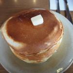 喫茶 アカリマチ - 自家製ホットケーキ