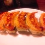 来々軒 - 餃子1人前。日本一美味しいと思う